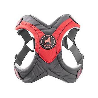 Gooby Trekking Step In Dog Harness Red - Large