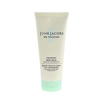 June Jacobs Spa Collection Cranberry Body Balm 7oz/207ml New