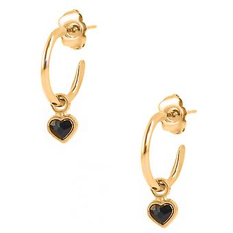 Earrings The InterchangeableS A59254 - Creoles Heart PM Dor