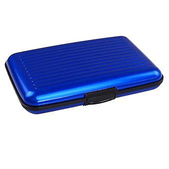 Secure card Holder-Blue