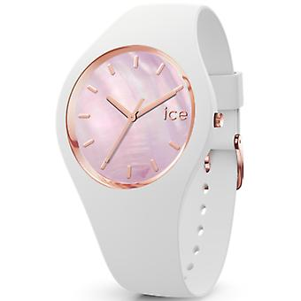 Pearl Women's Watch with Silicone Bracelet IC017126