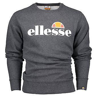Ellesse Sl Succiso Rundhalsausschnitt dunkelgrau Sweatshirt