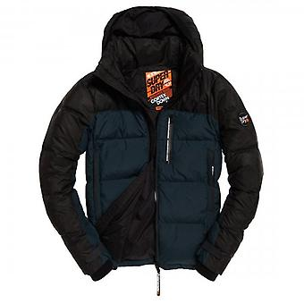 Superdry Cortex Down Puffer Jacket Navy AHN