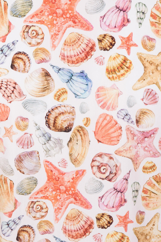 JSS Shell Print Regular Fit 100% Cotton Shirt
