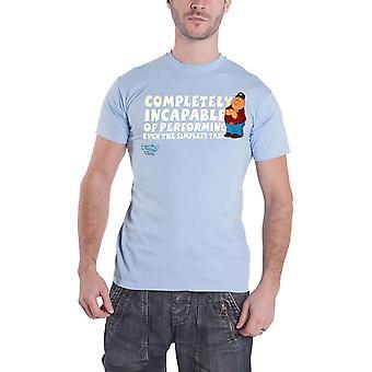 Officiële Family Guy T Shirt Peter Griffin helemaal niet in staat nieuwe Mens blauw
