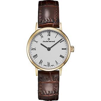 Claude Bernard - Wristwatch - Women - Slim Line - 20215 37J BR