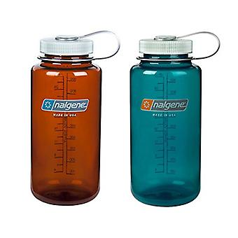 Nalgene 32 ounce (32oz) Wide Mouth (WM) Water, Rustic and Trout, Size No Size