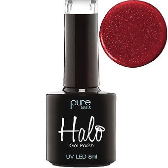 Halo gel nagels LED/UV Halo gel Polish collectie-Passion 8ml (N2866)