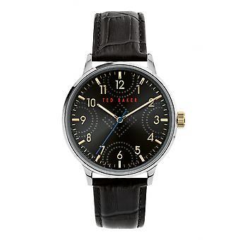 Ted Baker BKPCSS010 Men's Cosmop Black Dial Wristwatch