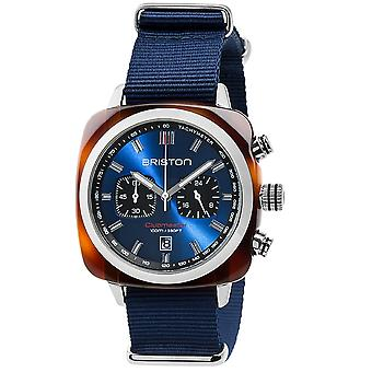 Briston 17142.SA.TS.9.NNB Clubmaster Sport Blue Wristwatch