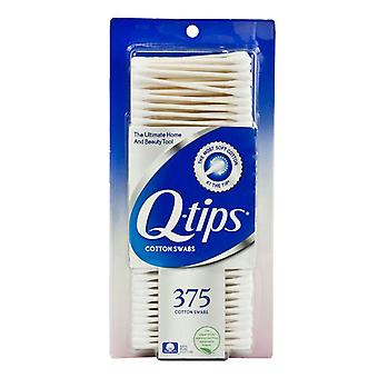 Q-tips cotton swabs, 375 ea