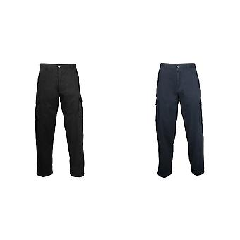 RTY Workwear Mens Cotton Cargo Trousers / Pants