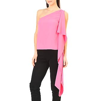 Annarita N Original Women Spring/Summer Top - Pink Color 30805