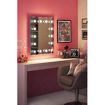 Diamond X Bodenmontage Hollywood Make-up-Spiegel mit dimmbaren LED-k412CW