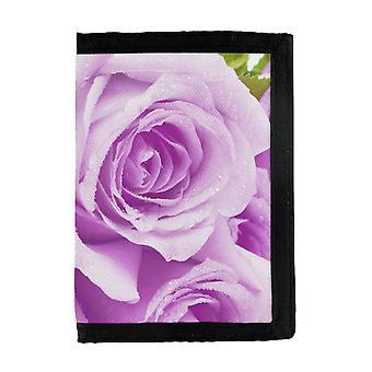 Portefeuille Purple Roses