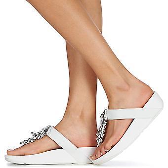 FitFlop Kvinnors Jive Treasure Open Tå Casual T-Strap sandaler