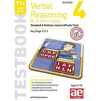 11+ Verbal Reasoning Year 5-7 GL & Other Styles Testbook 4 - Stand