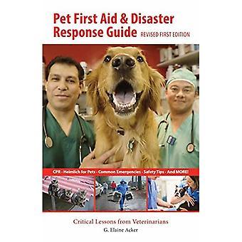 Animal de estimação de primeiros socorros e desastres resposta guia (Paperback)