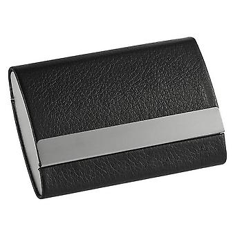 Orton West Magnetic Card Case - Black/Silver