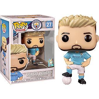 Football Manchester City Sergio Aguero Pop! Vinyl