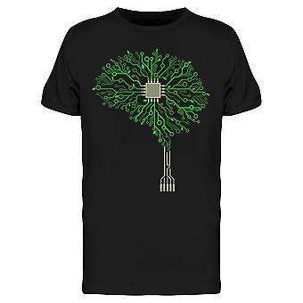 Piirilevy Green Tree Tee Men's -Kuva Shutterstock