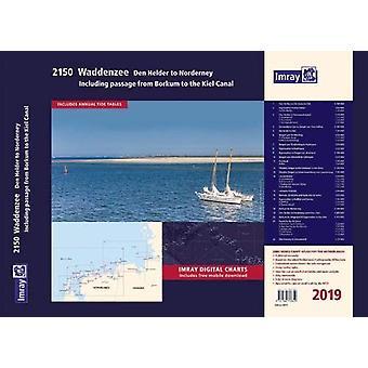 Imray Chart Atlas 2150 - Waddenzee - Den Helder to Norderney Chart Atl