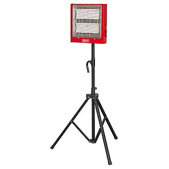 Sealey Ch2800S Ceramic Heater 1.4/2.8Kw 230V With Stand