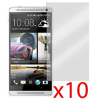 10x Screen Protector Cover voor HTC One Max