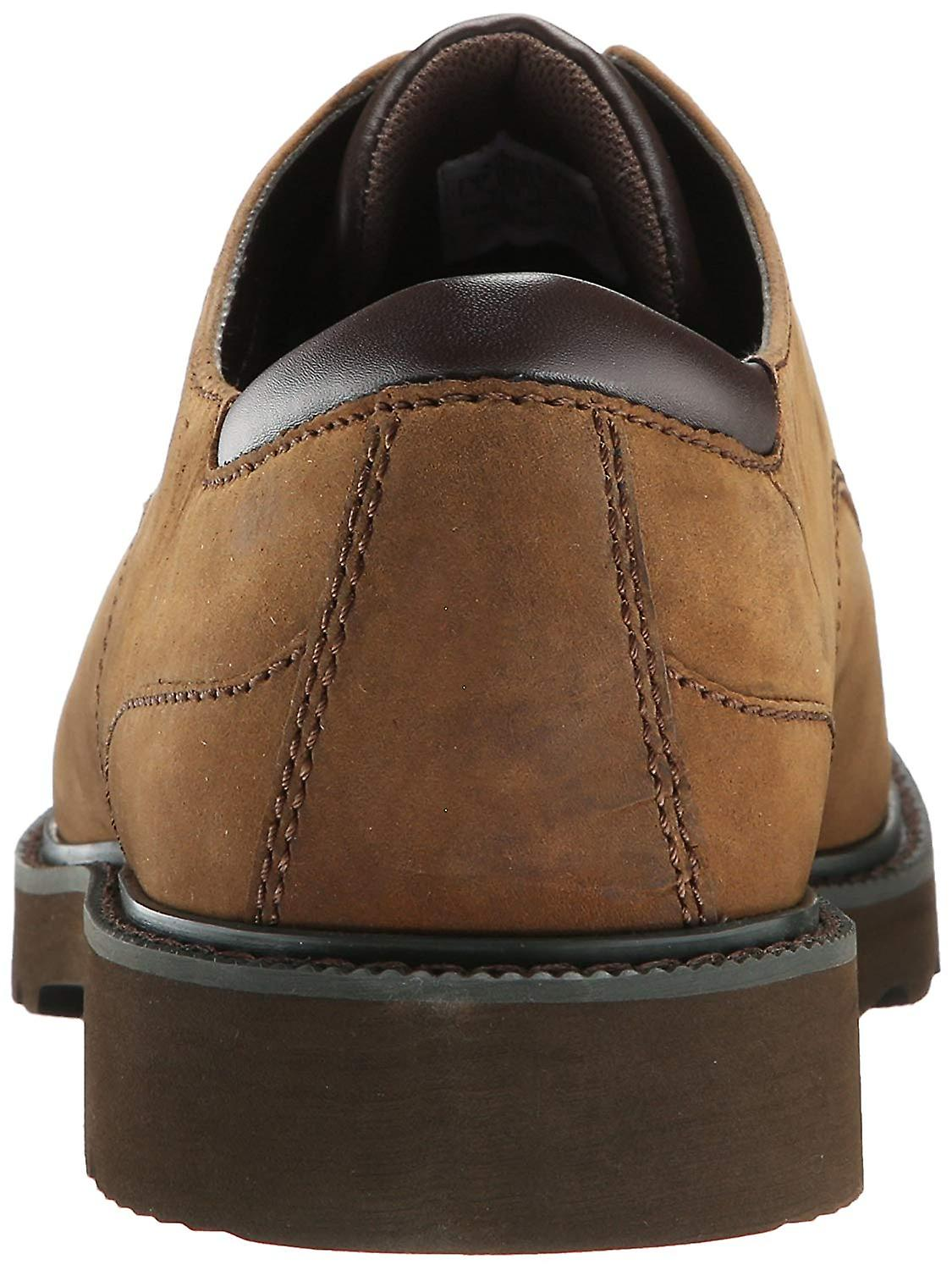 Rockport Mens Northfield Leather Lace Up Dress Oxfords