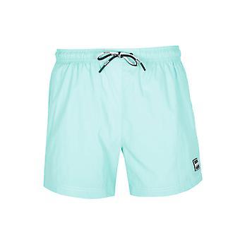 Boss Atum Pequeno Aba Azul Shorts de Natação