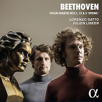 Beethoven / Gatto / Libeer - Violin Sonatas 1 [CD] USA import