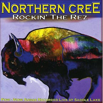 Northern Cree Singers - Rockin-apos; le Rez [CD] USA import