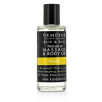 Demeter Freesia Massage & kropp olja 60ml / 2oz