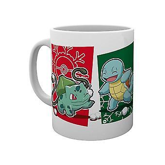 Pokémon, Mugg - Snowball Starters Christmas