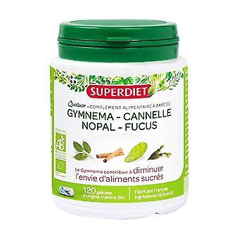 Gymnema BIO blood sugar quartet 120 capsules