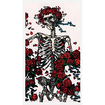 Slowtide Skull & Roses Beach Towel in Multi