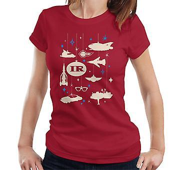 Thunderbirds Christmas Hanging Baubles Women's T-Shirt