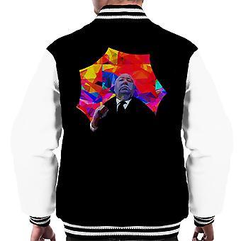 Alfred Hitchcock Kaleidoscope Umbrella 1975 Men's Varsity Jacket