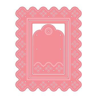 LDRS Creative Eyelet Lace Rectangle Dies