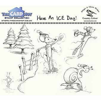 The Card Hut Have an ICE Day Clear Stamps