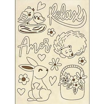 Puiset muodot A6 Amor Kani (KLSPA606)