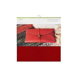 Cricut Cranberry 12x12 Inch Echt leer