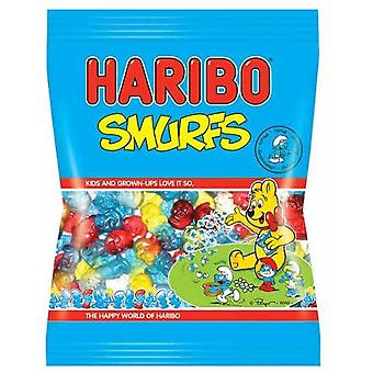 HARIBO Smurfs 0.49kg, bulk sweets, 3 packs of 160g