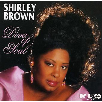 Shirley Brown - Diva of Soul [CD] USA import