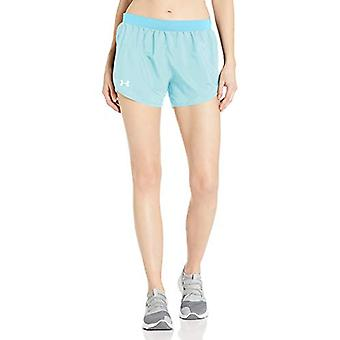 Under Armour Women's Fly By 2.0 Running Shorts , Blue Haze Full Heather (425)...