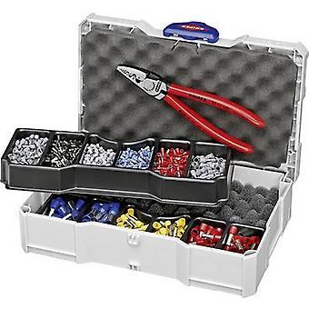 Knipex 97 90 06 Crimper Ferrules 0,25 upp till 16 mm² inkl hylsa set och fall