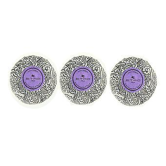 Etro 'Milano' Soap New (Pack Of 3)
