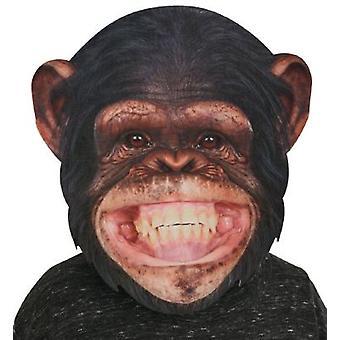 BigSize Mask Monkey Chimpansee ca. 35x36 cm