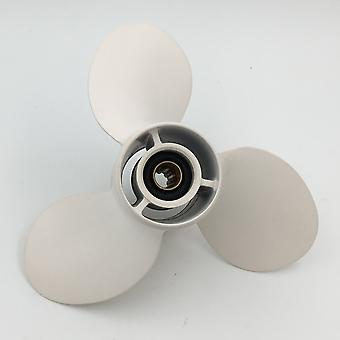 Aluminum Outboard Propeller 9-1/4x10 1/2 For Yamaha 9.9-15hp