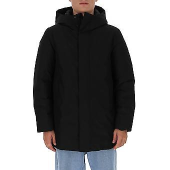 Woolrich Woou0253ut2345100 Men's Musta Nailon Down Jacket